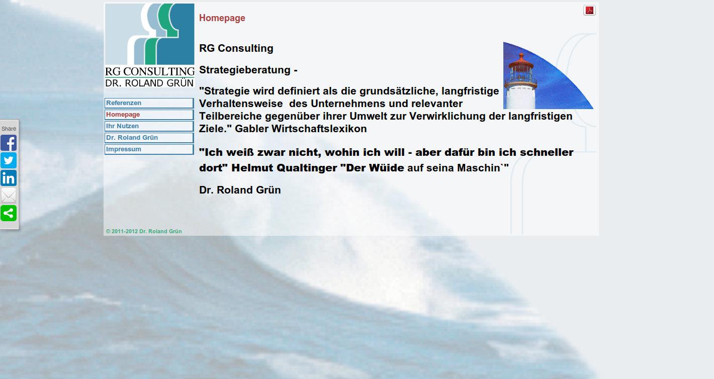 RG Consulting Dr. Roland Grün