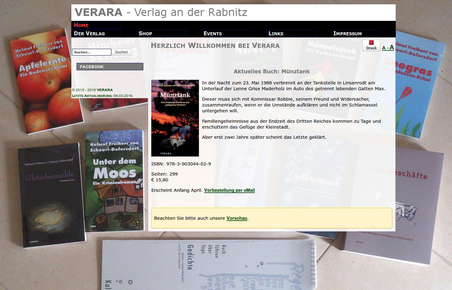 VERARA - Verlag an der Rabnitz